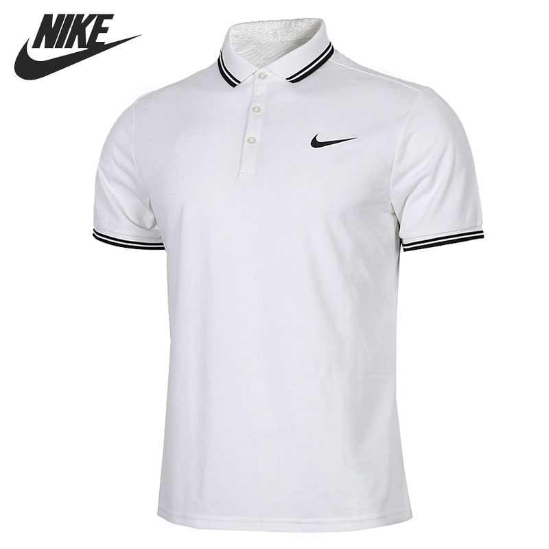 cebb6a072 Original New Arrival 2018 NIKE NKCT DRY SOLID Men's exercise POLO short  sleeve Sportswear