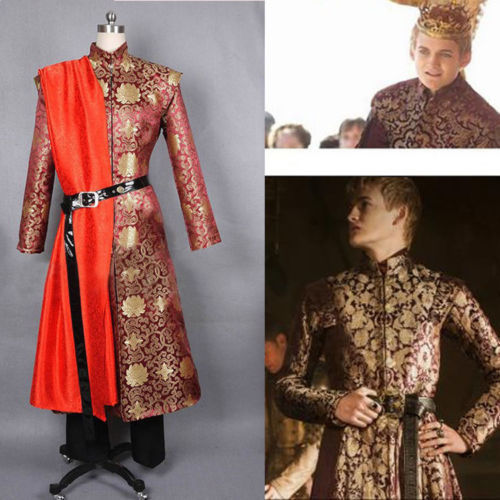 Game of Thrones King Prince Joffrey Baratheon Medieval Mens Cosplay Costume