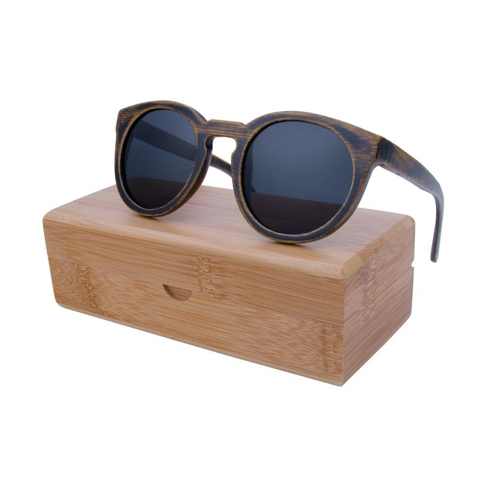 Berwer στρογγυλό πλαίσιο Bamboo γυαλιά - Αξεσουάρ ένδυσης - Φωτογραφία 5