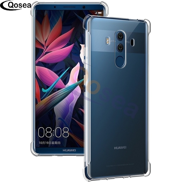 separation shoes baba6 606e7 US $2.17 49% OFF|Qosea For Huawei Mate 10 Pro Case Transparent Slim Soft  Silicone Ultra Clear TPU Skin For Huawei Mate 10 Airbag Protective Cover-in  ...