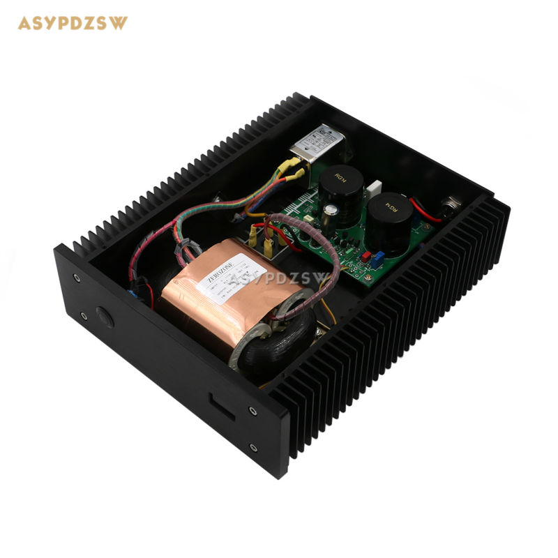 100VA Ultra low Noise LPS HI-END R-core Linear power supply / 100W PSU for audio DC5V-24V Optional With display