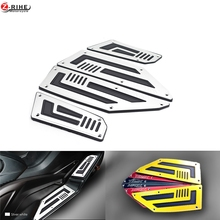 Motorcycle Footboard Steps Motorbike Foot For YAMAHA TMAX530 TMAX 530 T-MAX 530 2012 2013 2014 2015-16 Footrest Pegs Plate Pads for yamaha tmax530 t max 530 2012 2016 2013 2014 2015 motorcycle footboard steps motorbike foot footrest pegs plate pads