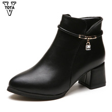 VTOTA Fashion Women Winter Snow Boot Crystal Ankle Boots For Women Botas Femenina Zapatos Mujer Short Plush Shoes Woman HYFC28