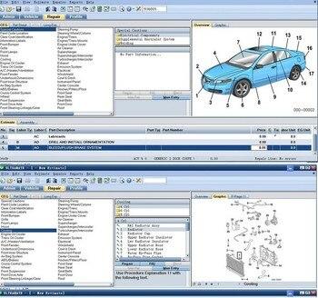ميتشل تقدير البرمجيات ميتشل ألترامات 7 نظام تقدير الاصطدام CD-في البرمجيات من السيارات والدراجات النارية على