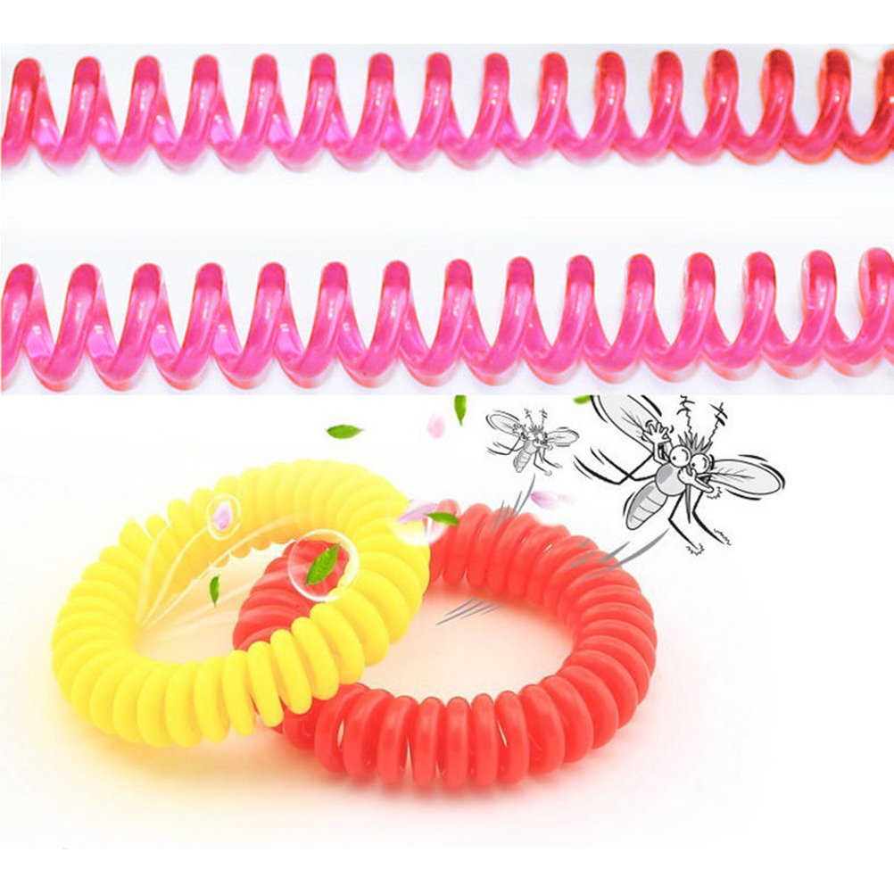 Outdoor Anti Mosquito Bug Pest Repel Wrist band Bracelet NonToxic Insect Repellent for Adult & Kid 50PCS Wholesale