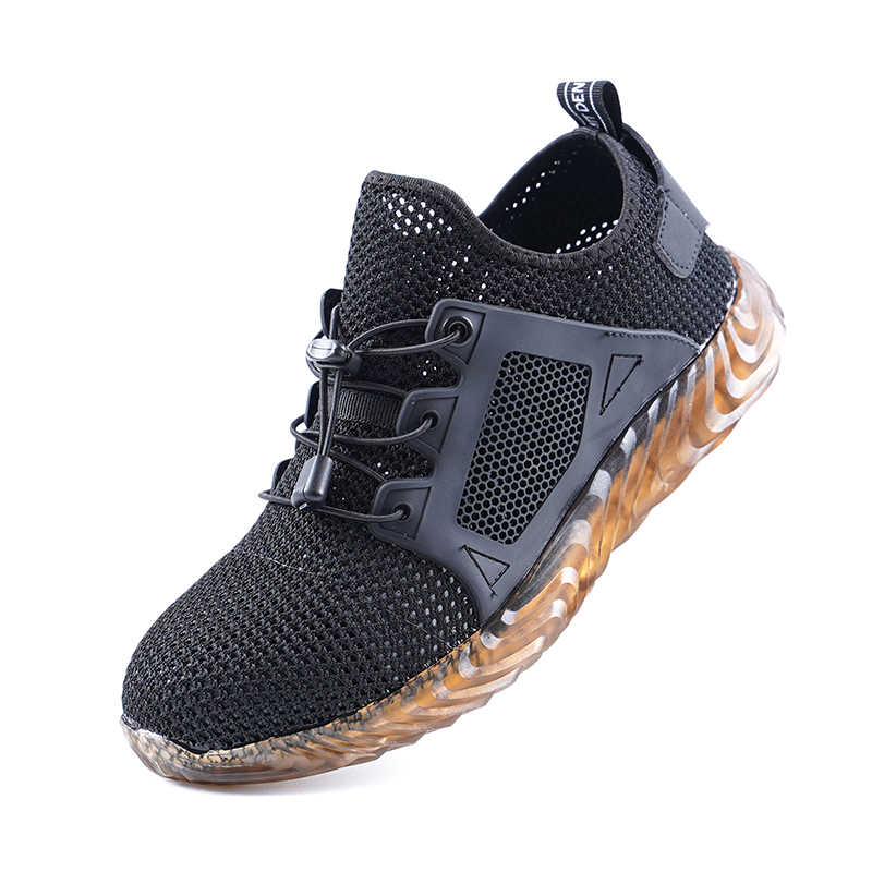 Dropshipping Indestructible Ryder Shoes Men And Women Steel Toe Air Safety Boots Puncture-Proof Work Sneakers Breathable Shoes