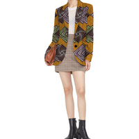 Personal Tailor Retro African Women Blazer Female Pattern Printed Suit Outwear Outfits Lady Dashiki Clothes