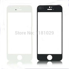 Whoie Sale 10pcs/lot A + quality Outer Glass Lens For iPhone 5 5G 5S High Quality Front Glass Lens White Black Free Shipping