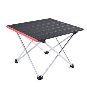 Image 5 - 超軽量アルミ合金テーブルスポット屋外キャンプテーブルポータブル折りたたみ式テーブルキャンプ自己駆動テーブル