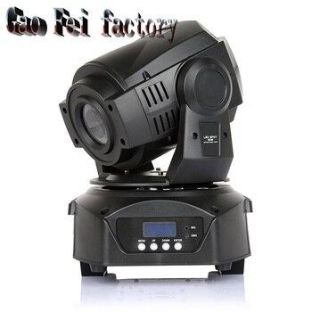 Freies Verschiffen Neue Hot-verkauf 90 W LED Spot Moving Head Licht/USA Luminums 90 W LED DJ spot Licht