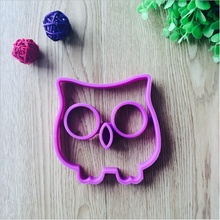 1pcs creative kitchen silicone owl omelette mold gadget cooking tool egg