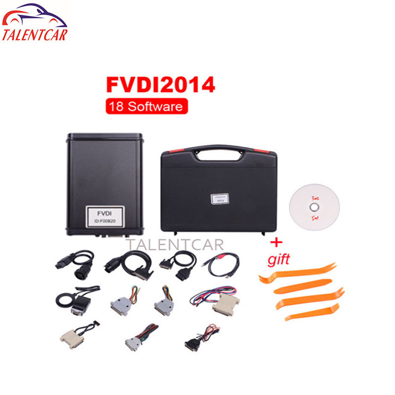 Top Quality Fvdi Abrites Commander with 18 Softwares AVDI Abrites V2014 Full Version OBD 2 Diagnostic Scanner Abrites Fvdi Full 2017 fvdi2 abrites commander for honda hds v3 016 with free j2534 drewtech software