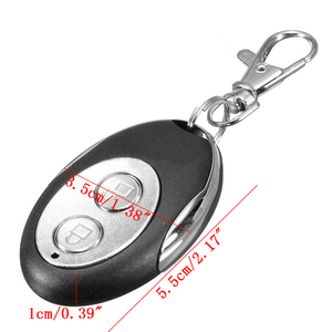 Image 5 - Universal 2 Channels Electric Garage Door Cloning Remote Control Key Fob 433mhz