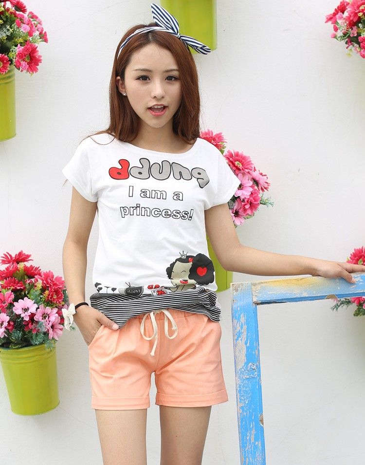Summer Style Shorts Women Candy Color Elastic With Belt Short Women 33