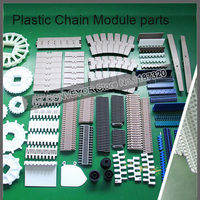 Пластиковая цепная пластина, конвейерная лента модуля, пластиковый приводной шкив