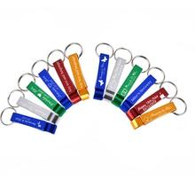 100* персонализированные Выгравированные открывалки для бутылок, брелок, свадебные сувениры, пивоварня, отель, ресторан, логотип, Рождество, индивидуальные