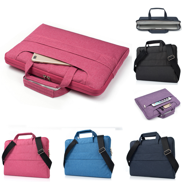 Nylon 11 13 15 Inch Man Women Notebook Laptop Sleeve Bag Case For Xiaomi  Acer Dell HP Asus Lenovo Macbook Pro Air 11.6 13.3 15.4 8577534aab