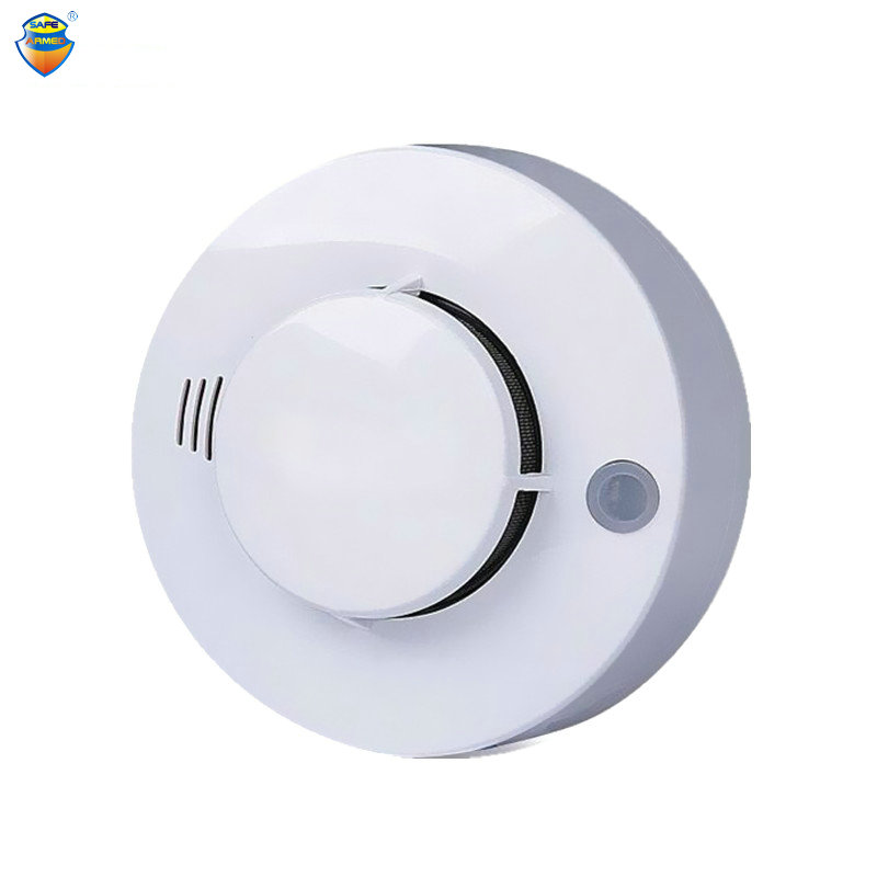 1 PCS CE Photoelectric Smoke Detector Sensor Wired Smoke alarm fire alarm For Security Auto Dial Alarm System For Free Shipping nec p401w