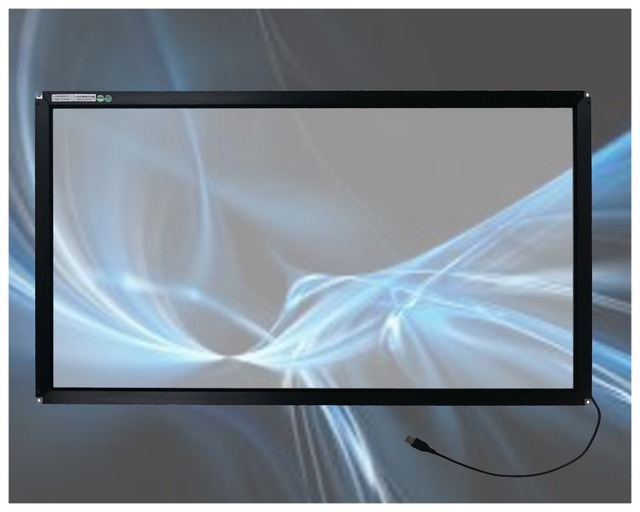 32 inch lcd touch screen,32inch interactive 4points infrared multi  lcd touch screen panel