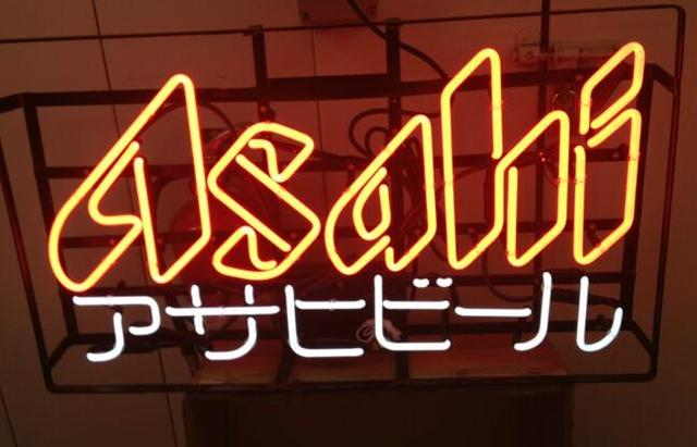 Custom Asahi REAL Neon Light Sign Beer Bar