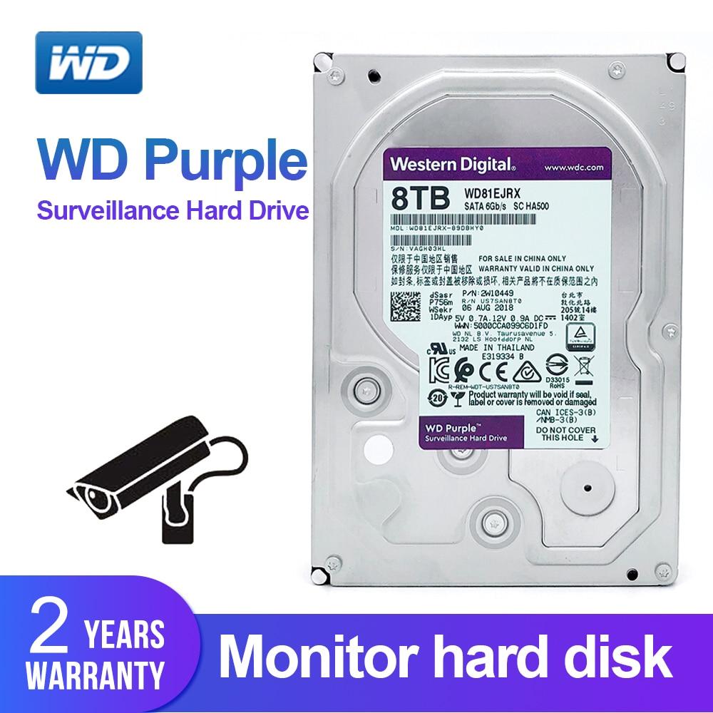 US $332 91 10% OFF|WD Purple 8TB 3 5