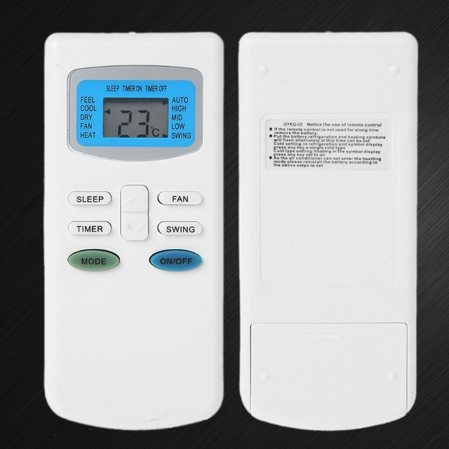Climatiseur universel de Télécommande De Remplacement Pour TCL PIONNIER GYKQ-03 GYKQ-05 GYKQ-10E