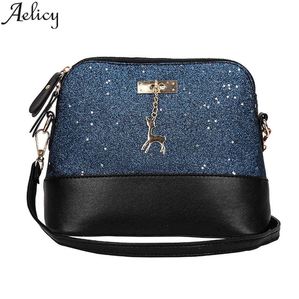 Aelicy Fashion Women Leather Splice Handbag Shoulder Bag Crossbody Bag Tote Bag Lady Messenger Bag 2018 new design high quality high quality crossbody bag fashion women leather handbag crossbody shoulder messenger phone coin bag dropshipping ma25