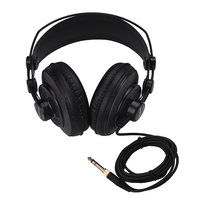 Professional Studio Reference Monitor Headphones Dynamic Headset Semi open Design for Recording Monitoring Music Appreciation