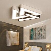 Lámparas de techo de iluminación de techo LED ultradelgadas para el techo de la sala de estar lámpara de techo moderna de 7cm de alto