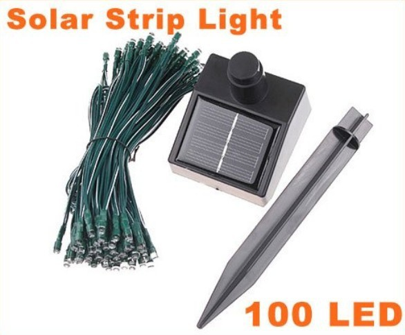Free delivery of high quality and low power consumption solar LED string lights decorating the Christmas tree