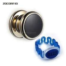 125khz RFID card lock locker Electronic Cabinet Lock Magnetic Swipe Card RFID Cabinet Locker Door Locks with free wristband