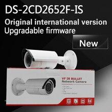 DHL Бесплатная доставка DS-2CD2652F-IS заменить DS-2CD2655F-IS Английская версия 5MP пуля видеонаблюдения POE камера с варифокальным объективом 2.8-12 мм