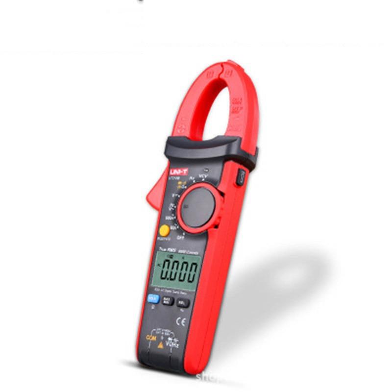 UNI-T ac dc current clamp meter UT216A clamp meter true rms auto range resistance capacitance test clamp multimeter mini mas tech pro mini mastech ms3302 ac current transducer 0 1a 400a clamp meter test hot sales