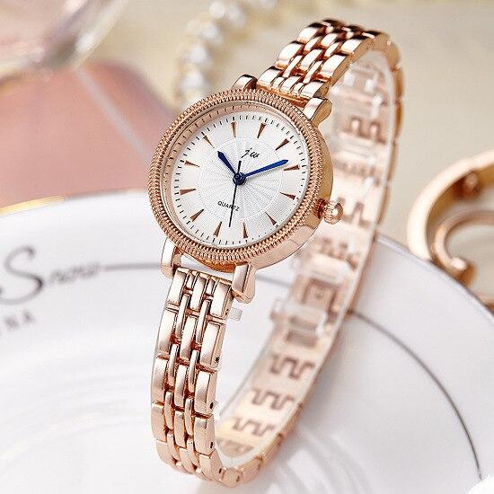 2017 Luxury Brand JW Watches Women Simple Stainless steel Bracelet Quartz Watch