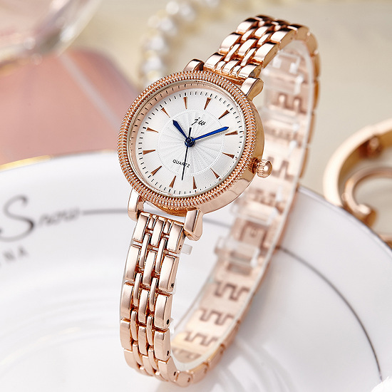 2019 Luxury Brand JW Watches Women Simple Stainless Steel Bracelet Quartz Watch Clock Ladies Fashion Casual Dress Wristwatches