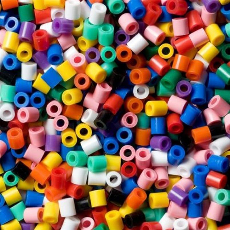 2.6mm 46000 pz/borsa Mini Perline Set Per Bambini FAI DA TE Giocattoli di Puzzle Mestiere Divertente Giocattoli Perler Perline Di Puzzle Giocattolo Educativo Per bambini Oyuncak