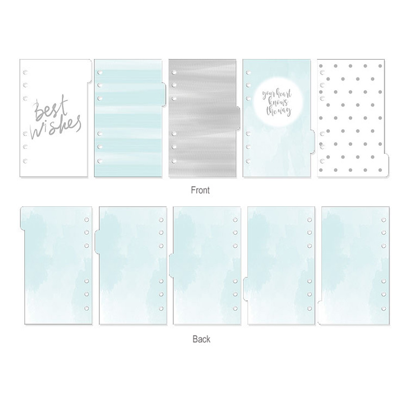 2019 New Dokibook Notebook Planner Accessories Snowflake Series Dividers A5A6A7 Inner Page 5pcs/Set Filler Papers for Filofax2019 New Dokibook Notebook Planner Accessories Snowflake Series Dividers A5A6A7 Inner Page 5pcs/Set Filler Papers for Filofax