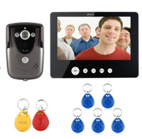 Oferta Control de acceso con tarjeta ID de 9 pulgadas intercomunicador con cable para videoportero