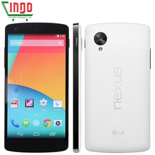 Original LG Google Nexus 5 D820 Quad Core GSM 3G&4G 8MP Smart Android phone WIFI GPS 2GB RAM 16GB ROM Cell Phone