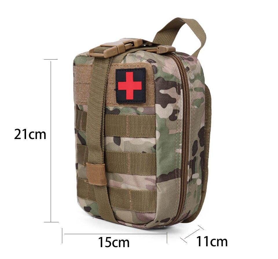 Купить с кэшбэком Outdoor sports should Mountaineering rock climbing Lifesaving bag Tactical medical Wild survival emergency kit