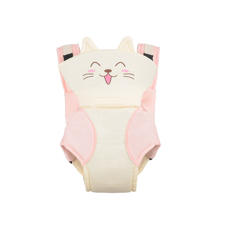 New Ergonomic Baby Carrier Breathable Lovely Cartoon Animal Multifunction Backpack 3-24 Months Kids ergo baby carrier performance