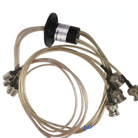 Высокое разрешение 1920 P/1080 P HD SDI 2 провода/4 канала BNC/SMA/MCX/IPEX Разъем скольжения кольцо Диаметр 22 мм для камера безопасности DIY