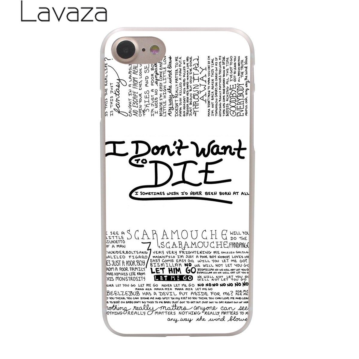 Lavaza Queen Rock Group Hard Phone Cover Case For Apple