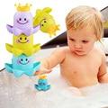 3 unids/set Taza Juguetes Del Baño Del Bebé Lindo Pulpo Colorido Pequeño Animal Del Bebé Niños de Juguete de Baño Juguetes Clásicos Juguete Del Baño