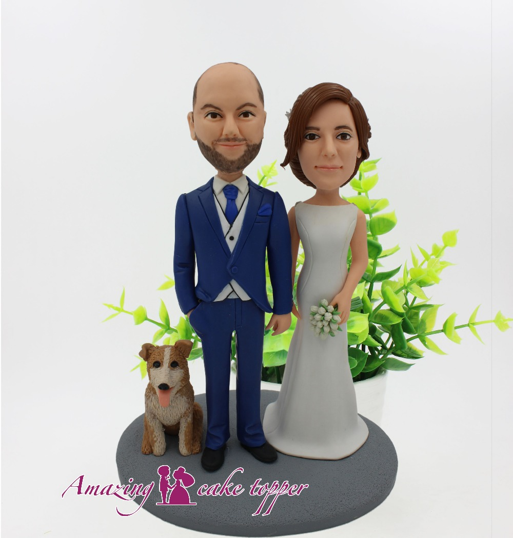 2019 AMAZING CAKE TOPPER Love pet, love testimony, love love Toys Custom Polymer Clay Figure From Pictures 2019 AMAZING CAKE TOPPER Love pet, love testimony, love love Toys Custom Polymer Clay Figure From Pictures