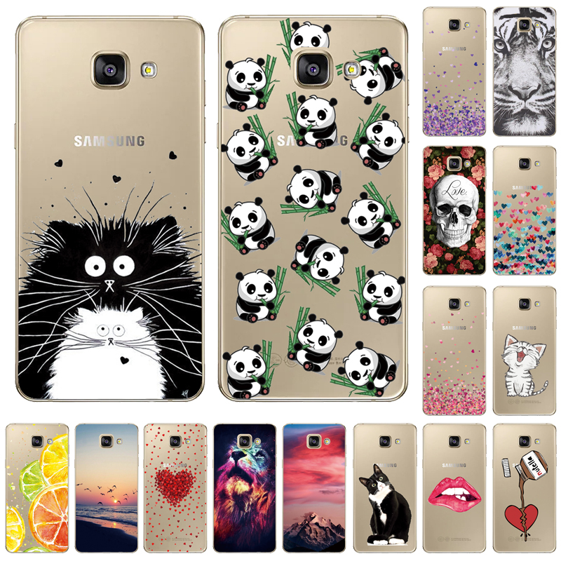 THREE-DIAO Cases For Fundas <font><b>Samsung</b></font> <font><b>Galaxy</b></font> <font><b>A5</b></font> <font><b>2017</b></font> Case For Soft Silicone <font><b>Samsung</b></font> <font><b>A5</b></font> <font><b>2017</b></font> <font><b>A520F</b></font> TPU Phone Back Cover Cases image