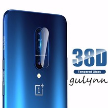 2PC 38D Back Camera Lens Tempered Glass for OnePlus 7 Pro 6 6T Screen Protector 5 5T Protective Film