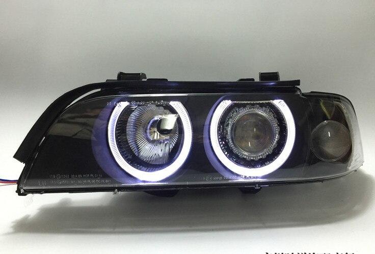 EOsuns phare assemblage pour BMW série 5 E39 520i 523i 525i 528i 530i 540i 1995-2003