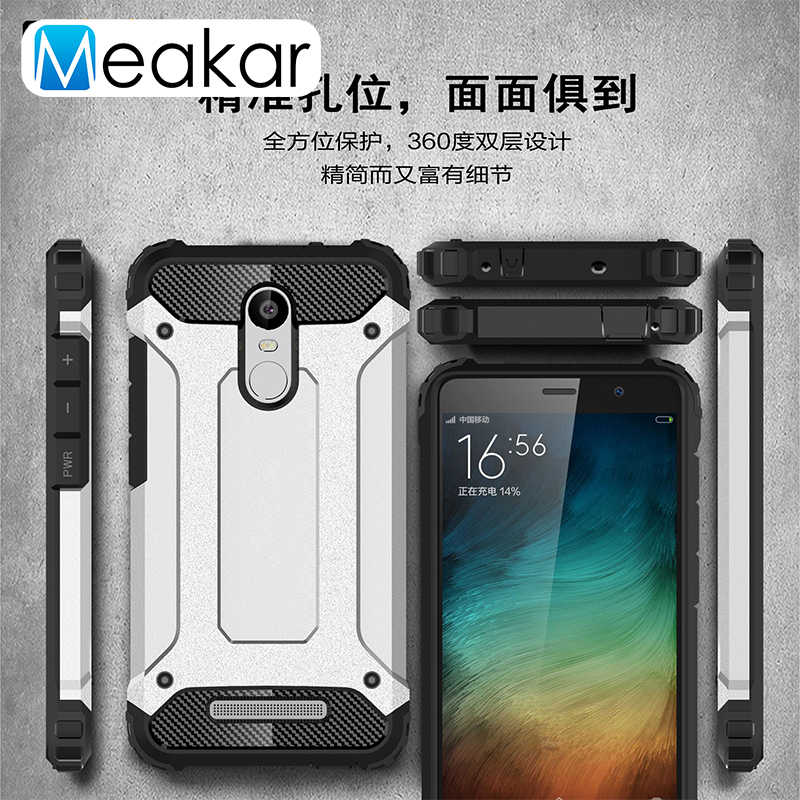 A prueba de golpes a prueba de Coque cubierta 5.5For Xiaomi Redmi nota 3 caso para Xiaomi Redmi nota 3 Note3 Pro primer teléfono de 150mm funda cubierta trasera