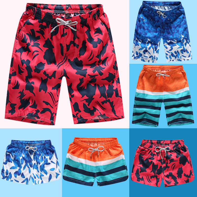 2019 Men Beach   Shorts   Swim   Shorts   Bermudas Summer Boardshorts Homme Swimwear Quick Dry Surf   Board   Swimming Running Beach Pants